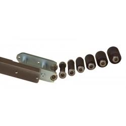 Malá kladka pogumovaná, průměr 12-48mm