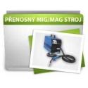 Jednofázové přenosné invertory MIG/MAG