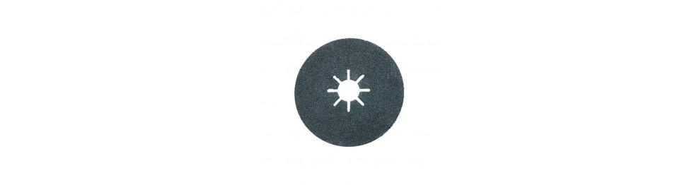 Discs of vulcanised fibreglass